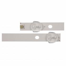 Set barete led Philips , Toshiba 43 inch 4708-K43WDR-A1213K04 A1213K01 K430WDR159036 S-T270-Y4-R-Y30 RL 8x5 led