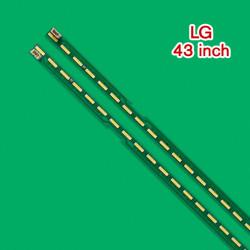 Set barete led TV LG 43 inch V15 ART3 FHD REV1.1 L/R , 2 barete 39 leduri