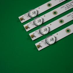 """Set barete led tv Starlight 50"""" , MS-L1255 V7 CX500DLEDEM PU50S7XL HL-00500A30-0901S-04 4x9led"""
