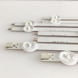 Set 10 barete 5 LED uri pentru LG 42 inch