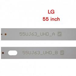 Set barete led LG 55 inch 55UJ630V, 55UJ6300, 55UJ635V 55UJ63_UHD_A (B) 55LJ55_FHD_A (B) 10 barete x 4led