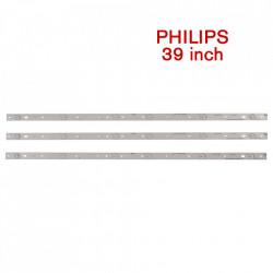 Set barete led Philipps 39 inch 39PFL4398H, 39PFL3088H CLO-T39 PHP LD REV.0.2 , 3 barete x 6 led