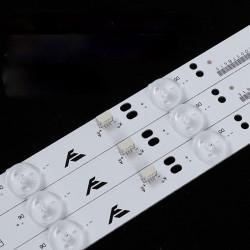 Set barete led Philips 32 inch 321E5Q 32PHF3056/T3 GC32D09-ZC21A-07 ZC14F-05 303GC315037 VS16131 VX3203S EB320HQ 3x9led