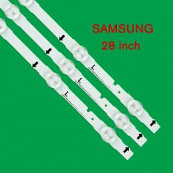 Set barete led Samsung 28 inch UE28J4100 D4GE-280DC0-R1 D4GE-280DC0-R2 3 barete x 6 led