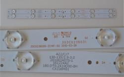 Set barete led tv Starlight 24 inch 303CX236031,ZDCX236D06-ZC14F-02, 180.DTO-2419D00-OH , NEO LEF-2419D, 2x6led