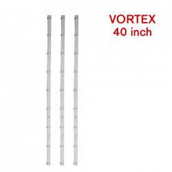 Set barete led Vortex 40 inch LEDV-40CK308 K395YU3535030965D-Rev1.0 W , 3 barete x 9 leduri