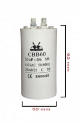 condensator pornire 50 μF 450 V