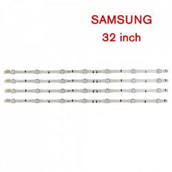 Set barete led Samsung 32 inch UE32H5500 D4GE-320DC1-R1 D4GE-320DC1-R2 4 barete x 7 leduri