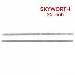 Set barete led SKYWORTH 32 inch 5800-W32001-3P00 Ver00.00 3 barete x 7 leduri