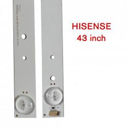 BACKLIGHT tv Hisense 43 inch