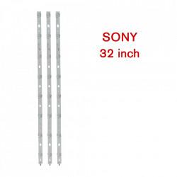 Set barete LED TV SONY 32 inch, set 3 barete cu 8 leduri, DIRECT-FIJL-32V-A3228-8LEDs-REV1.2; 612 mm