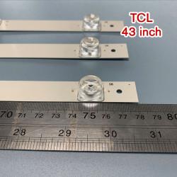 Set barete led tv TCL 43 inch 43D2900, 3 barete 8 leduri patrate