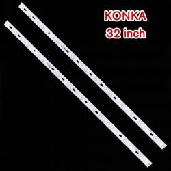 Set barete led 32 inch KONKA KL32GT618 2 barete x 10 leduri