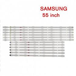 Set barete led Samsung 55 inch V5DU-550DCA-R1 V5DU-550DCB-R1 6 barete x 8led + 6 barete x 6led