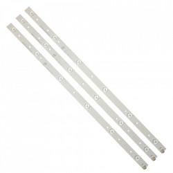 Set barete LED Toshiba 32 inch, 3 barete 6 LEDuri TV Toshiba 32 inch, SVT320AE9_REV1.0_121012 LSC320HN03-T01