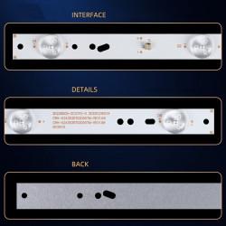 Set barete led tv Proscan, Konka, UTOK, CRH-K243535T020557M, U24HD2A, led24e330c, 2x5led