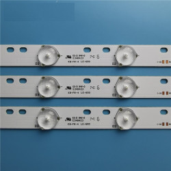 Set barete led tv Sanyo 32 inch KM0315LDHH44 2B5C KJ315D10-ZC14F-03 TDD3V100348438 2*10led