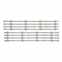 Set barete Samsung 48 inch 2015SVS48-FHD FCOM V5DN-480SMA-R4 V5DN-480SMB-R3, UE48J5000, 4x(4led+4led)