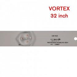 Set barete led Vortex 32 inch LED-V32C02D, B, LED-V32Z02DC L32A06LS01, PB07D 3BL042-001H 3 barete x 9 leduri