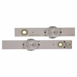 Set barete Philips PT580F2-PU1L.Q REV: S01A; LB58003 V0_01 LB58003 V1_01 5x(5led+6led)