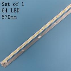 Bareta LED Toshiba, Philips, TCL, KONKA Haier 46 inch BN96-00998A LJ64-03471A 2012SGS46 7030L 64 REV 1,0 1x64led