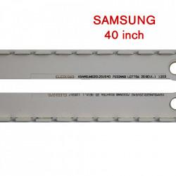 Set barete led Samsung 40 inch 40ES 2D 2012SVS40 7032NNB LEFT56, 2012SVS40 7032NNB RIGHT56 2 barete 56 leduri