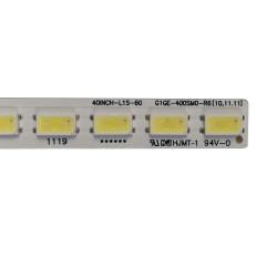 Set barete Hisense, TCL , Toshiba 40 inch GIGE-400SM0-R6 L40F3200B LJ64-03029A LTA400HM13 2x60LED 40K20P