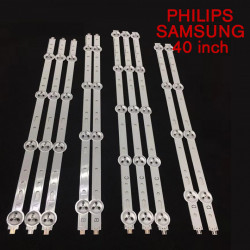 Set barete led Philips, SAMSUNG 40 inch 40PFL3208 SVS400A73, SVS400A79 10 barete 3A+2B+3C+2D