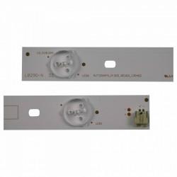 Set barete led tv Toshiba 29 inch ,29P1300VE 29P1300VT 29P1300 , SVT290A05_P1300_6LED_REV03_130402 , 3 barete 6 leduri