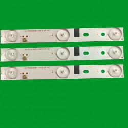 Set barete led tv VISION TOUCH VTTV A3201, 180.DT0-32D700-0H HL-00320A28-1001S-01 3x10 led