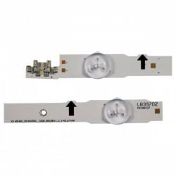"""Set barete Samsung 50"""" UE50H6350 D4GE-500DCA-R2, D4GE-500DCB-R2, 2014SVS50, 6x(7led+5led)"""