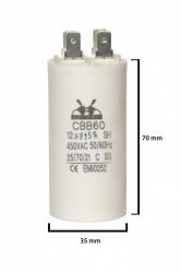 condensator pornire 12 μF 450 V