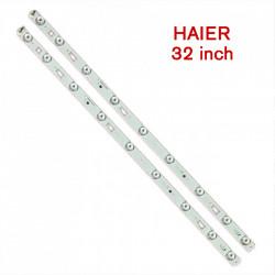 Set barete led Haier 32 inch 32HR331M09A5 V1 D32TS7202 2 barete x 9 leduri