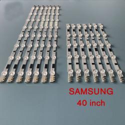 Set barete led Samsung 40 inch, set 14 barete 5 si 8 leduri, D2GE-400SCA-R3, D2GE-400SCB-R3 2013SVS40FL8 Rev.1.9, 2013SVS40FR5 Rev.1.9