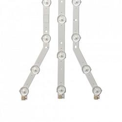 Barete LED Samsung 40 inch, set 3barete 12/13LED, D3GE-400SMa-R2, D3GE-400SMB-R2