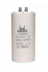 condensator pornire 70 μF 450 V