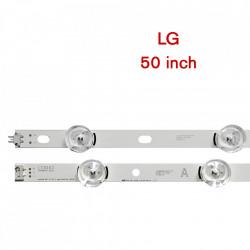 "Set barete led LG 50 inch 50LB650V, 50LB6300 LG Innotek DRT 3.0 50"" _A/B 6916L-1735A, 1736A, 1978A 5 barete x 5led+ 5 barete x 4 led"