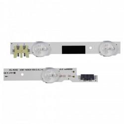 Set barete Samsung 46 Inch 2013SVS46F D2GE-460SCA/B-R3, UE46F5005A, 8x(9led+6led)