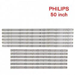 Set barete led Philips 50 inch 50PFT4009 500TT26 V5, 500TT56 V0, 6 barete x 6led+ 6 barete x 5led