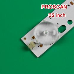 Set barete led Proscan 32 inch IC-B-CNA032D127 2 barete x 10 leduri