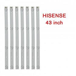 Set barete led TV Hisense 43 inch, 7 barete cu 4 leduri, SVH420AA7_4LED_REV02_20150410