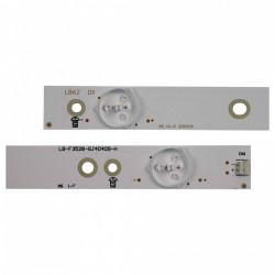 Set barete led tv Philips , Sony 40 inch LB-F3528-GJ40409H / GJ-DLEDII P5-400-D409-V7 4x9led