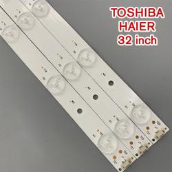 Set barete led tv Toshiba, HAIER, 32 inch, LED315D10-07 B 30331510219 , 3 barete 10 leduri