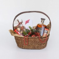 Hennesy Christmas basket
