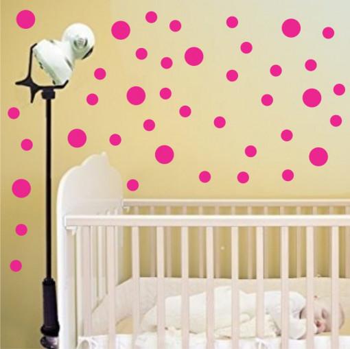 Set stickere perete Buline Roz