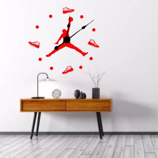 Sticker decorativ ceas Jordan
