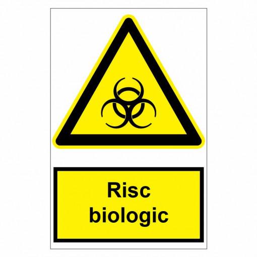 Sticker indicator Risc biologic