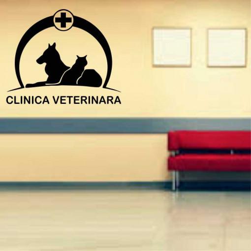 Sticker perete Clinica Veterinara 5