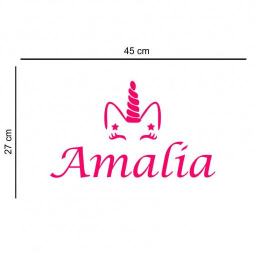 Sticker perete personalizat My Name Girl 5