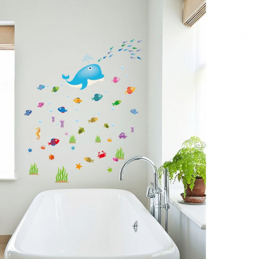 Sticker perete Seaworld